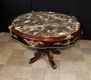 Francês Louis XVI Center Centro de mesa Mármore coberto