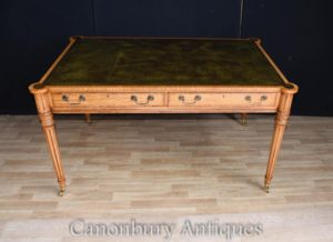 GILLOWS REGENCY ESCRIVANINHA DESK TOP MESA DE COURO